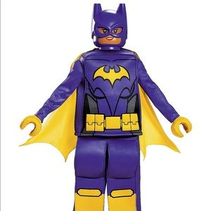 Lego batgirl costume size: s/4/6x